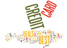 Best Credit Card Offer Is Still Possible Word Cloud Concept Royalty Free Stock Photos