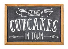 Best cupcakes in town. The best cupcakes in town Royalty Free Stock Images