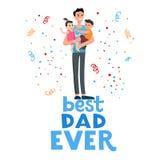 Best dad card Stock Photos