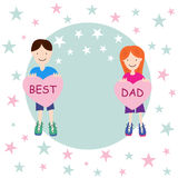 Best Dad Royalty Free Stock Images