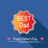 Best dad vector Stock Images