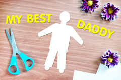Best daddy Royalty Free Stock Photo