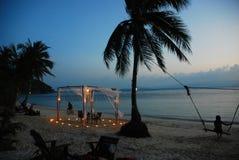 Best date ever!. Ko Phangan island, Thailand 2016 Royalty Free Stock Photos