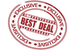 Best deal Royalty Free Stock Photo