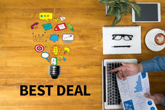 BEST DEAL Royalty Free Stock Photos