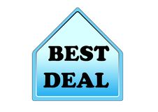 Best deal colorful symbol element isolated on white background stock illustration