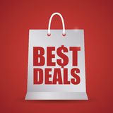 Best deal design. Royalty Free Stock Photography
