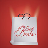 Best deal design. Royalty Free Stock Images