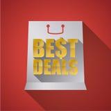 Best deal design. Stock Photo