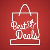 Best deal design. Stock Photography