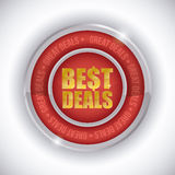 Best deal design. Stock Photo