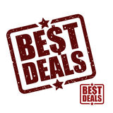 Best deal design. Royalty Free Stock Photos