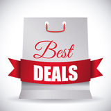 Best deal design. Stock Image