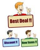 Best Deal sign Stock Photos
