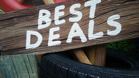 Best deal sign Royalty Free Stock Images