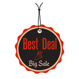 Best deal tag stock images
