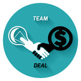 Best deal. team.  Stock Photo