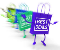 Best Deals On Colored Bags Show Bargains Royalty Free Stock Photo