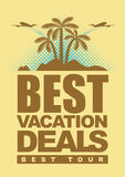 Best deals for holiday Royalty Free Stock Photo