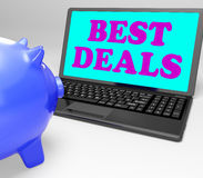 Best Deals Laptop Shows Online Bargains And Savings Stock Images