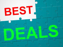 Best Deals Shows Offer Promo And Sale Royalty Free Stock Images
