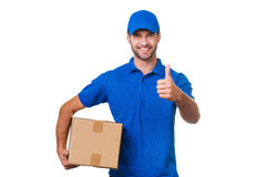 The best delivery service. Royalty Free Stock Image