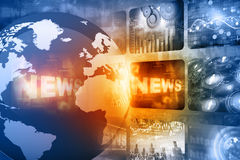Best design of Global news Stock Images