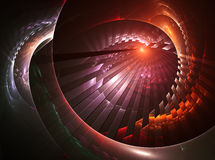 The Best Design of My New Collection. Fractal Design Element or Art Background. Cosmos concept Stock Images