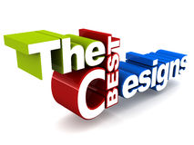 Best designs graphic Royalty Free Stock Image