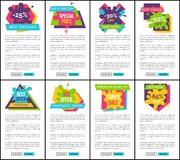 Best Discount Only One Day Vector Illustration Royalty Free Stock Photos