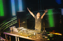 The best DJ  Armin van Buuren  Ibiza Stock Images
