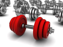 Best dumbell Royalty Free Stock Images