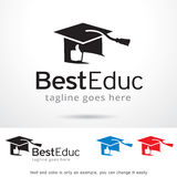 Best Education Logo Template Design Vector Stock Image