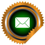 Best email logo Royalty Free Stock Image