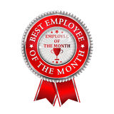 Best Employee of the month award Stock Photos