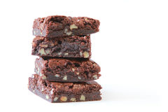 Best-ever Decadent Chocolate Brownies Stock Photo