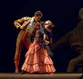 The Best Flamenco Dance Drama  Stock Photography