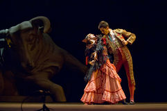 The Best Flamenco Dance Drama : Carmen Royalty Free Stock Photos