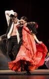 The Best Flamenco Dance Drama : Carmen. CHENGDU - DEC 28: The Ballet Troupe of Spanish Rafael Aguilar(Ballet Teatro Espanol de Rafael Aguilar) perform the best Royalty Free Stock Photos