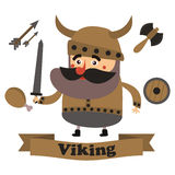 Best flat viking Royalty Free Stock Images