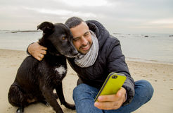 Best Freinds making selfie Royalty Free Stock Images