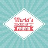 Best friend design Stock Photos