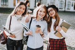 Best Friend Forever. Girls. Happy Together. Fun stock images