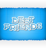 Best Friend Royalty Free Stock Photos