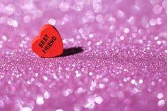Best Friend Heart Stock Photo