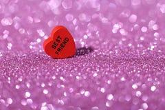 Best Friend Heart Stock Image