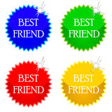 Best friend icons Stock Photo