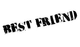 Best Friend rubber stamp Royalty Free Stock Photography