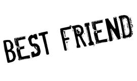 Best Friend rubber stamp Stock Photography