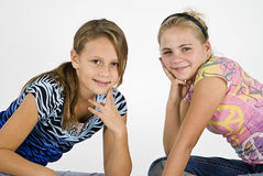 The Best of Friends Royalty Free Stock Image